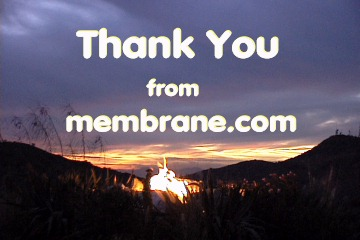 Thank You AONA from membrane.com, image captured during  the dinner at A Different Pointe of View